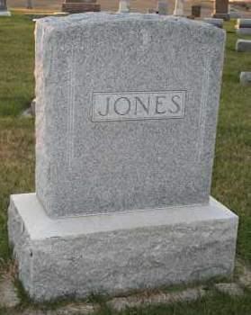 JONES, FAMILY - Cedar County, Nebraska | FAMILY JONES - Nebraska Gravestone Photos