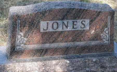 JONES, FAMILY STONE - Cedar County, Nebraska | FAMILY STONE JONES - Nebraska Gravestone Photos
