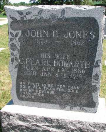JONES, JOHN D. - Cedar County, Nebraska | JOHN D. JONES - Nebraska Gravestone Photos