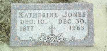 JONES, KATHERINE - Cedar County, Nebraska | KATHERINE JONES - Nebraska Gravestone Photos