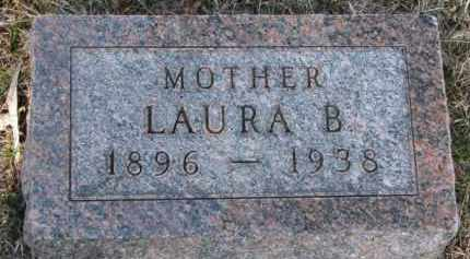 JONES, LAURA B. - Cedar County, Nebraska   LAURA B. JONES - Nebraska Gravestone Photos