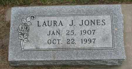 JONES, LAURA J. - Cedar County, Nebraska   LAURA J. JONES - Nebraska Gravestone Photos