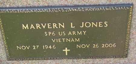 JONES, MARVERN L. (MILITARY) - Cedar County, Nebraska | MARVERN L. (MILITARY) JONES - Nebraska Gravestone Photos