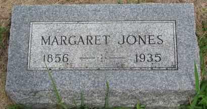 JONES, MARGARET - Cedar County, Nebraska | MARGARET JONES - Nebraska Gravestone Photos