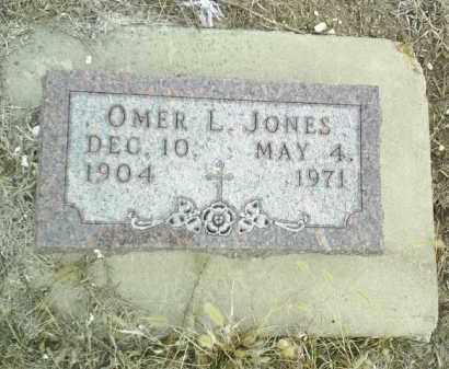 JONES, OMER - Cedar County, Nebraska | OMER JONES - Nebraska Gravestone Photos
