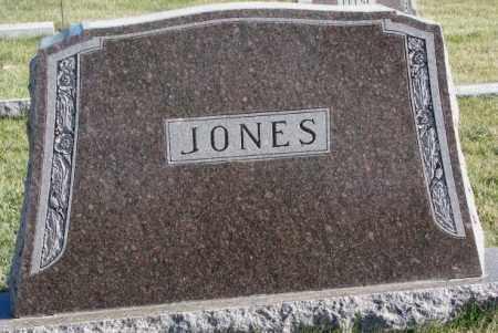 JONES, PLOT - Cedar County, Nebraska | PLOT JONES - Nebraska Gravestone Photos