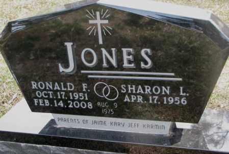 JONES, RONALD F. - Cedar County, Nebraska   RONALD F. JONES - Nebraska Gravestone Photos