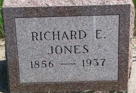 JONES, RICHARD E. - Cedar County, Nebraska | RICHARD E. JONES - Nebraska Gravestone Photos