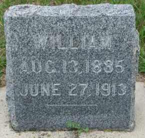 JONES, WILLIAM - Cedar County, Nebraska   WILLIAM JONES - Nebraska Gravestone Photos