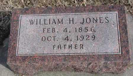 JONES, WILLIAM H. - Cedar County, Nebraska | WILLIAM H. JONES - Nebraska Gravestone Photos