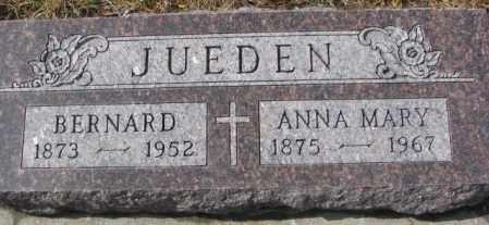 JUEDEN, BERNARD - Cedar County, Nebraska | BERNARD JUEDEN - Nebraska Gravestone Photos