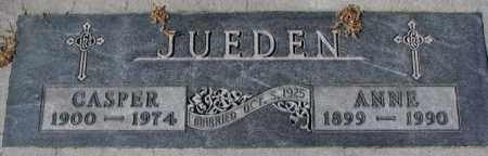JUEDEN, ANNE - Cedar County, Nebraska | ANNE JUEDEN - Nebraska Gravestone Photos