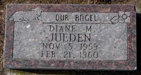 JUEDEN, DIANE M. - Cedar County, Nebraska   DIANE M. JUEDEN - Nebraska Gravestone Photos