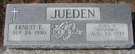 JUEDEN, JOAN A. - Cedar County, Nebraska | JOAN A. JUEDEN - Nebraska Gravestone Photos