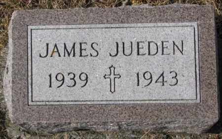 JUEDEN, JAMES - Cedar County, Nebraska | JAMES JUEDEN - Nebraska Gravestone Photos