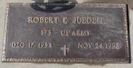 JUEDEN, ROBERT E. (MILITARY) - Cedar County, Nebraska | ROBERT E. (MILITARY) JUEDEN - Nebraska Gravestone Photos