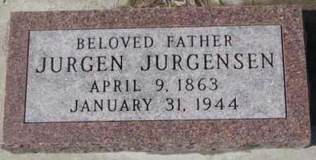 JURGENSEN, JURGEN - Cedar County, Nebraska | JURGEN JURGENSEN - Nebraska Gravestone Photos