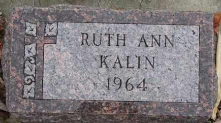 KALIN, RUTH ANN - Cedar County, Nebraska | RUTH ANN KALIN - Nebraska Gravestone Photos