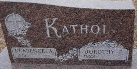 KATHOL, DOROTHY F. - Cedar County, Nebraska | DOROTHY F. KATHOL - Nebraska Gravestone Photos