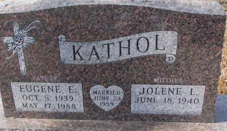 KATHOL, JOLENE L. - Cedar County, Nebraska | JOLENE L. KATHOL - Nebraska Gravestone Photos