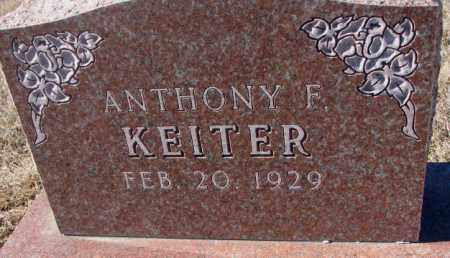 KEITER, ANTHONY F. - Cedar County, Nebraska | ANTHONY F. KEITER - Nebraska Gravestone Photos