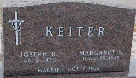 KEITER, MARGARET A. - Cedar County, Nebraska   MARGARET A. KEITER - Nebraska Gravestone Photos