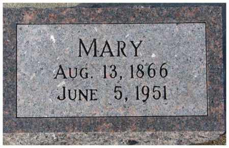 KEITER, MARY - Cedar County, Nebraska | MARY KEITER - Nebraska Gravestone Photos
