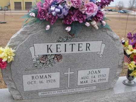 KEITER, JOAN - Cedar County, Nebraska   JOAN KEITER - Nebraska Gravestone Photos