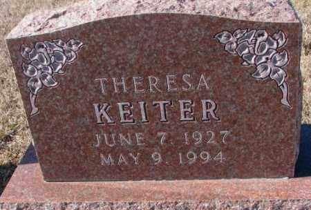 KEITER, THERESA - Cedar County, Nebraska | THERESA KEITER - Nebraska Gravestone Photos