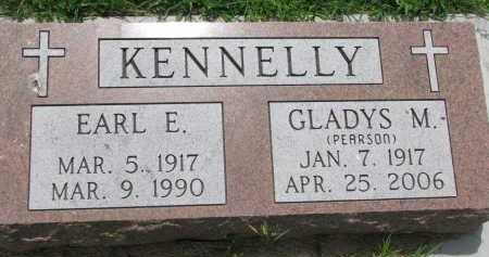 KENNELLY, GLADYS M. - Cedar County, Nebraska | GLADYS M. KENNELLY - Nebraska Gravestone Photos