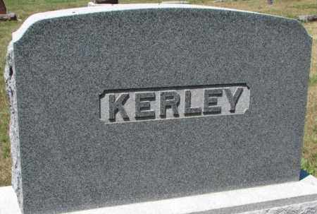 KERLEY, PLOT - Cedar County, Nebraska | PLOT KERLEY - Nebraska Gravestone Photos
