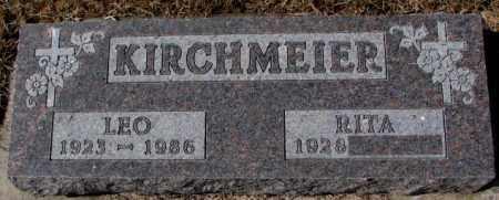 KIRCHMEIER, RITA - Cedar County, Nebraska | RITA KIRCHMEIER - Nebraska Gravestone Photos