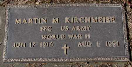 KIRCHMEIER, MARTIN M. (WW II) - Cedar County, Nebraska | MARTIN M. (WW II) KIRCHMEIER - Nebraska Gravestone Photos