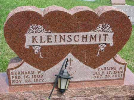 KLEINSCHMIT, PAULINE M. - Cedar County, Nebraska | PAULINE M. KLEINSCHMIT - Nebraska Gravestone Photos