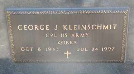 KLEINSCHMIT, GEORGE J. (MILITARY) - Cedar County, Nebraska | GEORGE J. (MILITARY) KLEINSCHMIT - Nebraska Gravestone Photos