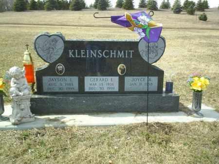KLEINSCHMIT, GERARD - Cedar County, Nebraska   GERARD KLEINSCHMIT - Nebraska Gravestone Photos