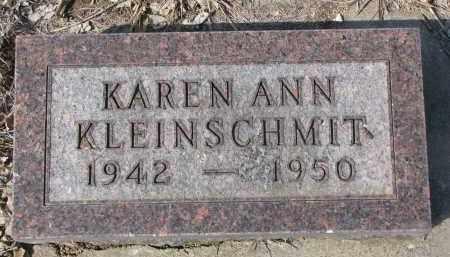 KLEINSCHMIT, KAREN ANN - Cedar County, Nebraska | KAREN ANN KLEINSCHMIT - Nebraska Gravestone Photos
