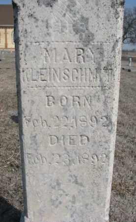 KLEINSCHMIT, MARY (CLOSEUP) - Cedar County, Nebraska   MARY (CLOSEUP) KLEINSCHMIT - Nebraska Gravestone Photos