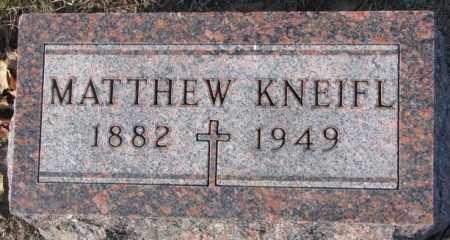 KNEIFL, MATTHEW - Cedar County, Nebraska | MATTHEW KNEIFL - Nebraska Gravestone Photos