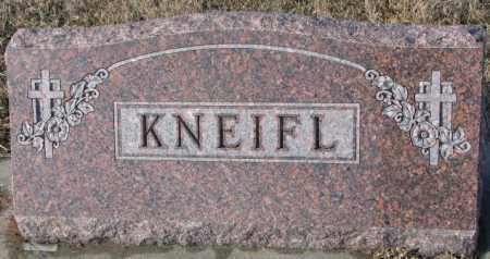 KNEIFL, PLOT - Cedar County, Nebraska | PLOT KNEIFL - Nebraska Gravestone Photos