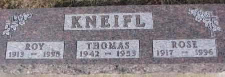 KNEIFL, THOMAS - Cedar County, Nebraska | THOMAS KNEIFL - Nebraska Gravestone Photos