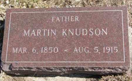 KNUDSON, MARTIN - Cedar County, Nebraska | MARTIN KNUDSON - Nebraska Gravestone Photos