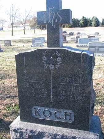 KOCH, JOSPHINA - Cedar County, Nebraska | JOSPHINA KOCH - Nebraska Gravestone Photos