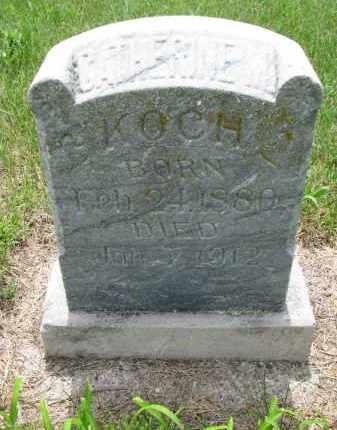 KOCH, CATHERINE M. - Cedar County, Nebraska | CATHERINE M. KOCH - Nebraska Gravestone Photos