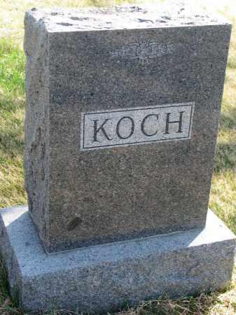 KOCH, FAMILY STONE - Cedar County, Nebraska | FAMILY STONE KOCH - Nebraska Gravestone Photos