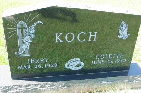 KOCH, JERRY - Cedar County, Nebraska | JERRY KOCH - Nebraska Gravestone Photos