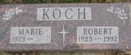 KOCH, ROBERT - Cedar County, Nebraska | ROBERT KOCH - Nebraska Gravestone Photos