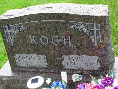 KOCH, CYRIL I. - Cedar County, Nebraska   CYRIL I. KOCH - Nebraska Gravestone Photos