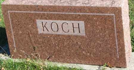 KOCH, PLOT - Cedar County, Nebraska | PLOT KOCH - Nebraska Gravestone Photos