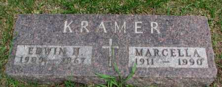 KRAMER, MARCELLA - Cedar County, Nebraska | MARCELLA KRAMER - Nebraska Gravestone Photos